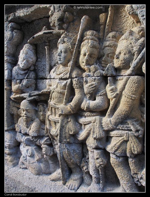 Borobudur reliefs (10)