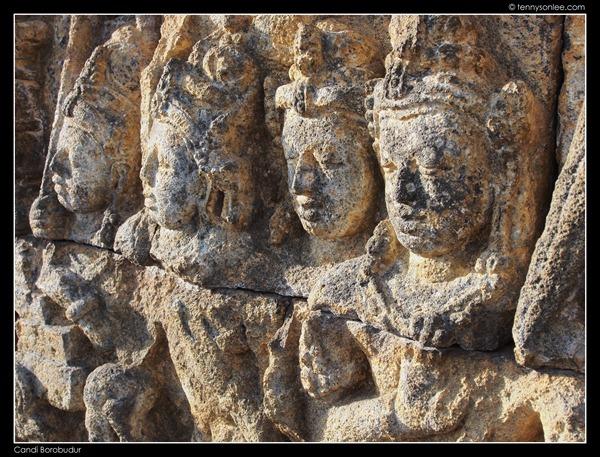 Borobudur reliefs (3)