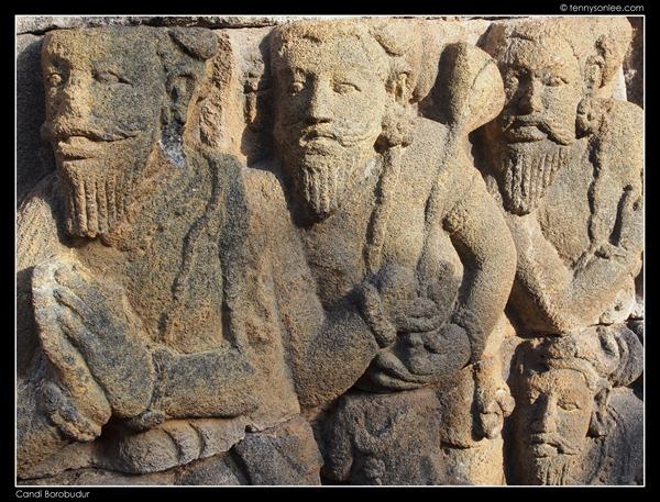 Borobudur reliefs (8)