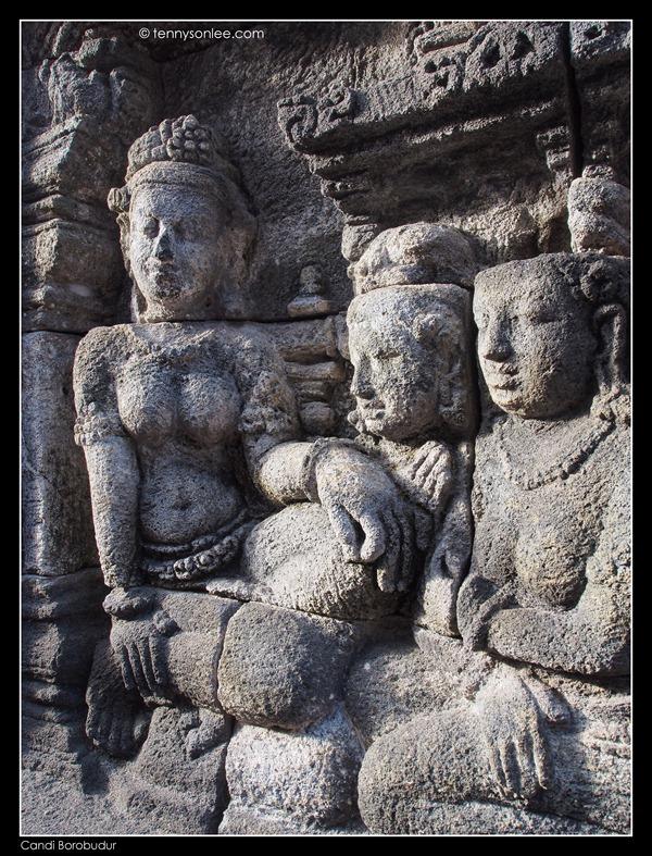 Borobudur reliefs (9)