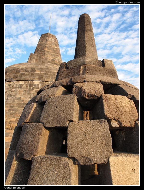 Borobudur stupas (1)