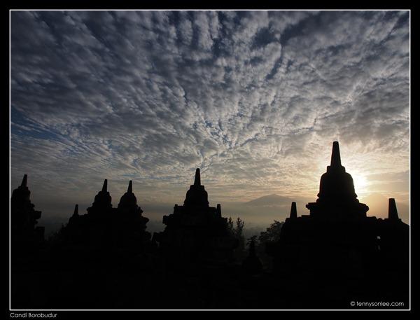 Borobudur stupas (3)