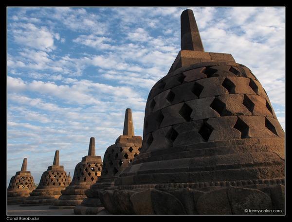 Borobudur stupas (4)