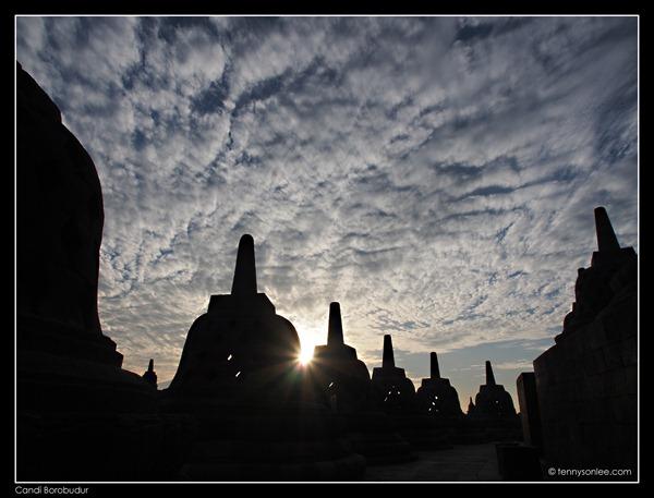 Borobudur stupas (6)