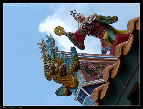 Batu Pahat Chinese Temple 柔佛州峇株吧辖白沙浮建南寺 (1)