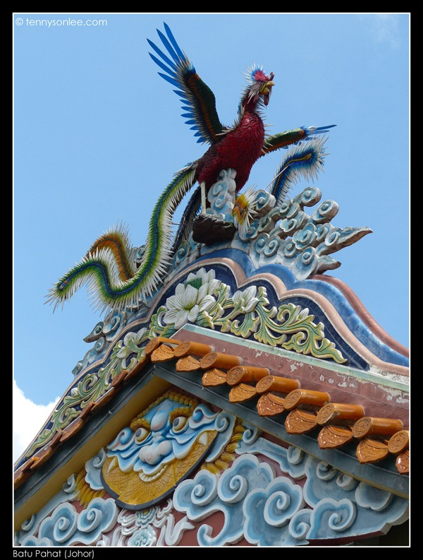 Batu Pahat Chinese Temple 柔佛州峇株吧辖白沙浮建南寺 (2)