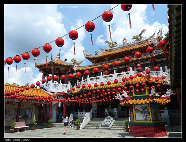 Batu Pahat Chinese Temple 柔佛州峇株吧辖白沙浮建南寺 (3)