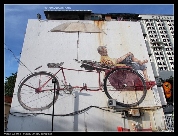 Ernest Zacharevic Mirrors George Town mural (6)