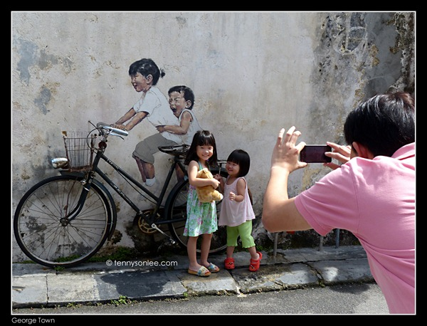 Ernest Zacharevic Mirrors George Town