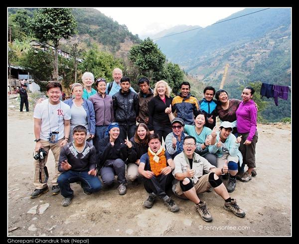 Group Photo at Siwai Jeep Station