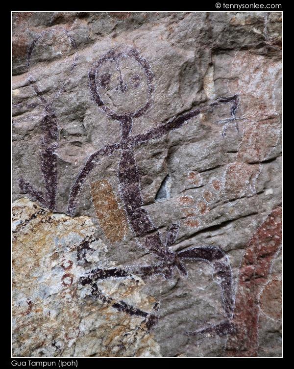 Gua Tambun Prehistoric Paintings (2)