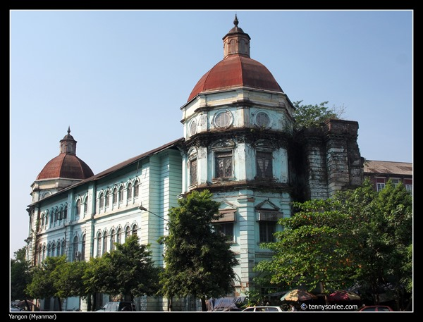 Custom House Yangon 1915