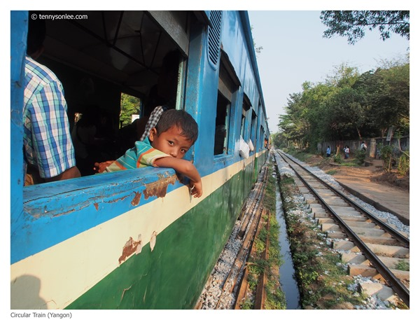 Yangon Circle Line Train (7)