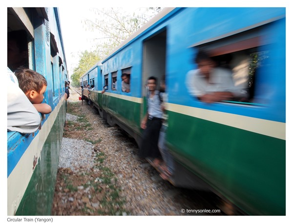 Yangon Circle Line Train (9)