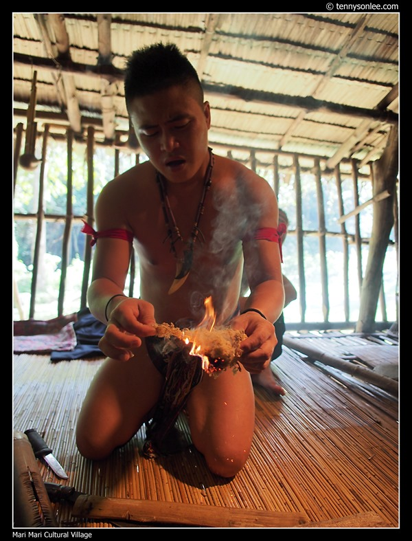 Fire Making with Bamboo