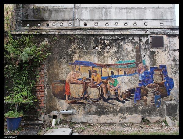 Mural at Ipoh (2)