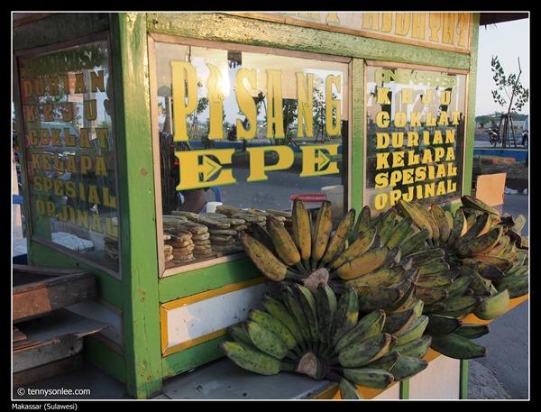 Pisang Epe at Makassar