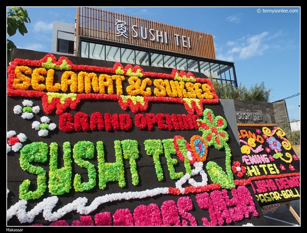 Sushi Tei grand opening at Makassar