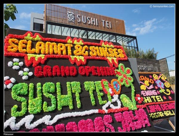 Sushi Tei grand opening at Makassar