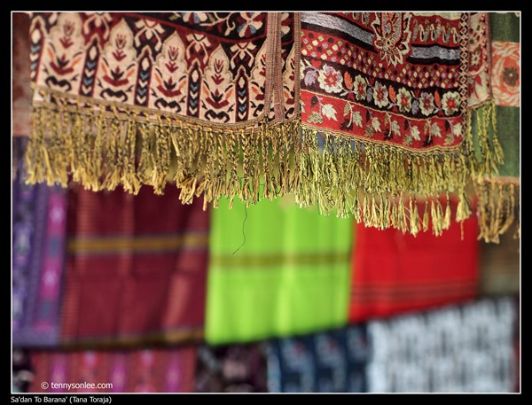 Weaving at Toraja (3)