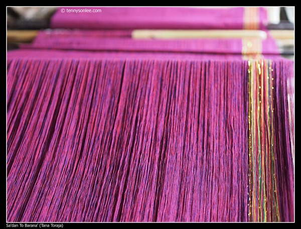 Weaving at Toraja (4)