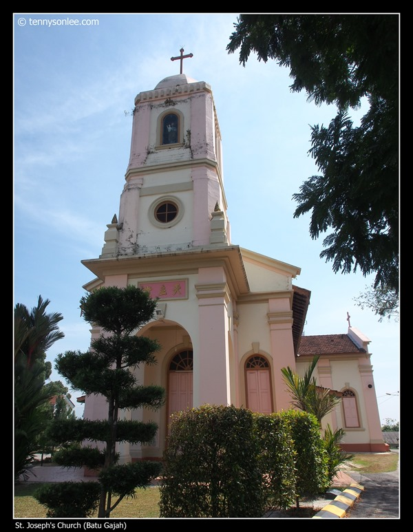 St Joseph's Church at Batu Gajah