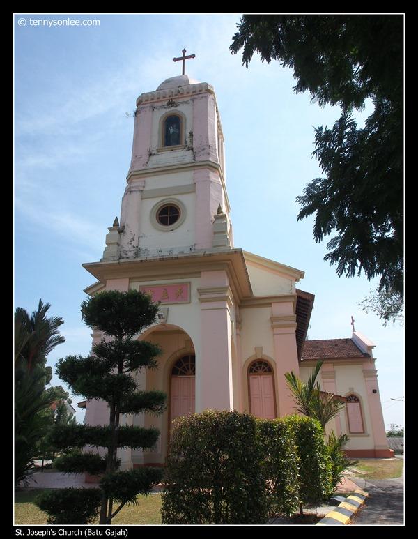 St Joseph's Church at Batu Gajah
