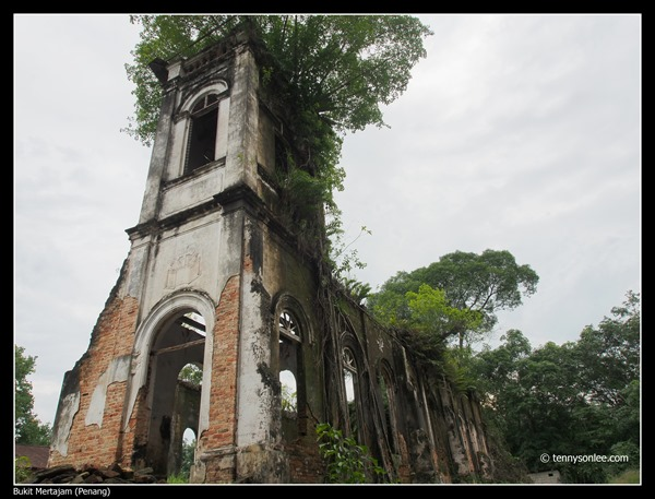 Abandoned Church at Bukit Mertajam 大山脚圣山