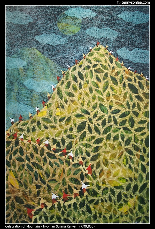 Celebration of Mountain by Nyoman Sujana Kenyem