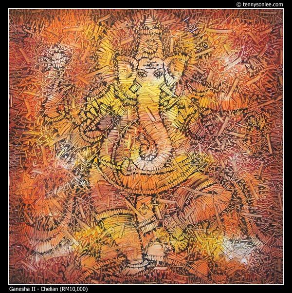 Ganesha II by Chelian
