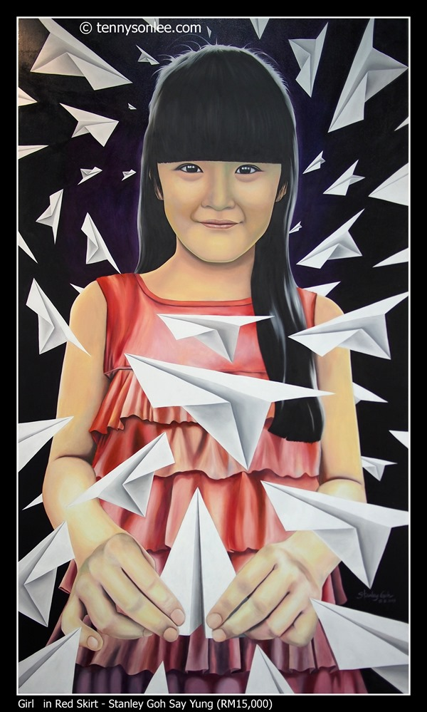 Girl in Red Skirt by Stanley Goh Say Yung
