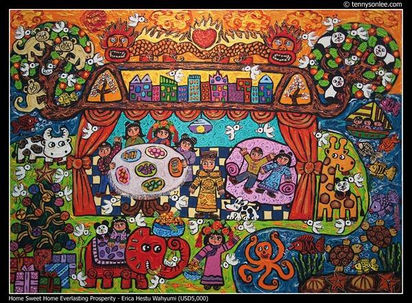 Home Sweet Home Everlasting Prosperity by Erica Hestu Wahyumi