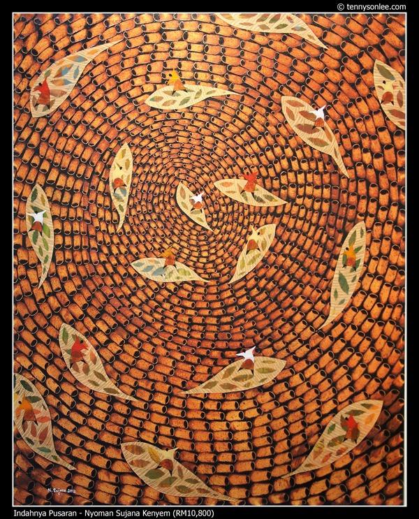Indahnya Pusaran by Nyoman Sujana Kenyem