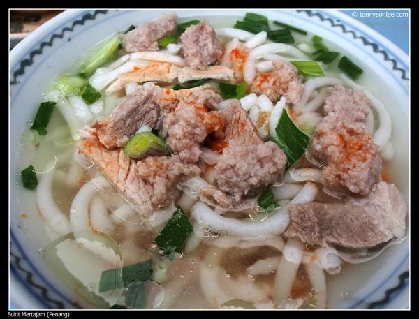 Rice Noodle at Bukit Mertajam 大山脚米台目