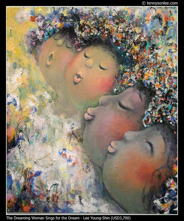 The Dreaming Woman Sings for the Dream by Lee Young-Shin
