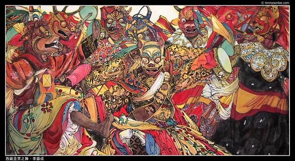西藏圣灵之舞 - 李鼎成