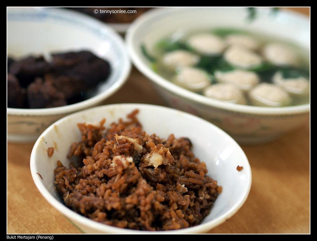 Yam Rice at Bukit Mertajam 大山脚芋饭