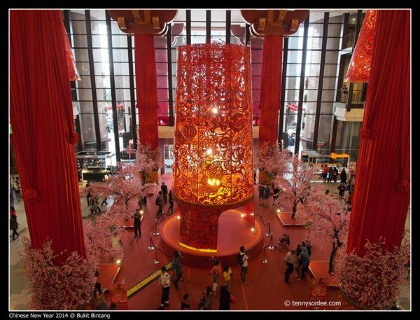 Berjaya Times Square Chinese New Year 2014