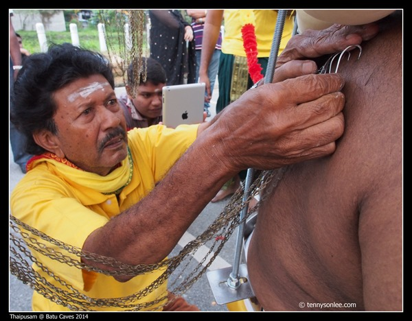 Thaipusam at Batu Caves 2014 (3)