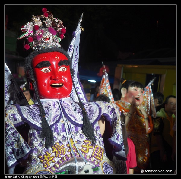 Johor Bahru Chingay 2014 柔佛古庙游神 (11)