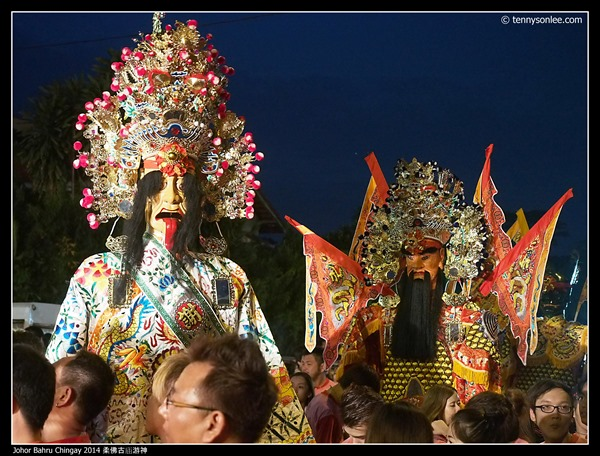 Johor Bahru Chingay 2014 柔佛古庙游神 (13)