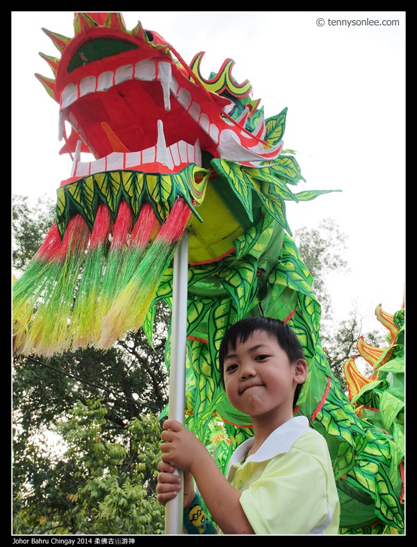 Johor Bahru Chingay 2014 柔佛古庙游神 (14)