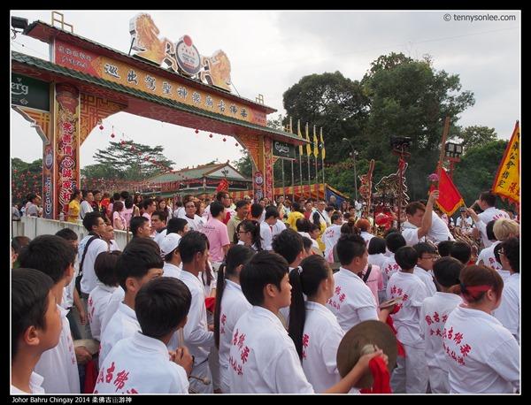 Johor Bahru Chingay 2014 柔佛古庙游神 (18)