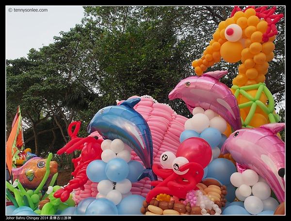 Johor Bahru Chingay 2014 柔佛古庙游神 (22)