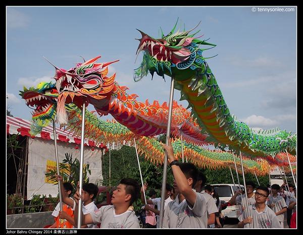 Johor Bahru Chingay 2014 柔佛古庙游神 (29)