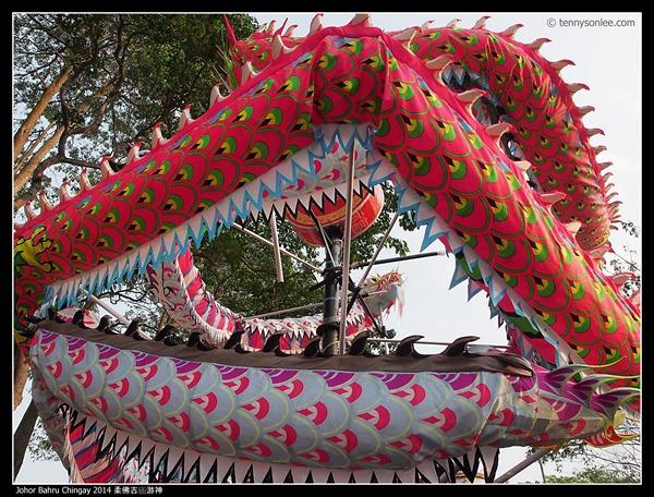 Johor Bahru Chingay 2014 柔佛古庙游神 (39)