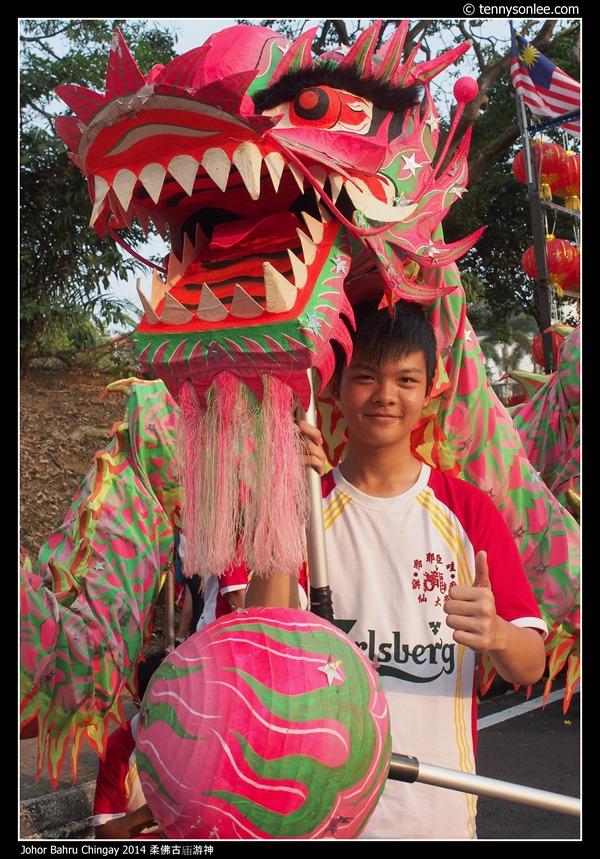 Johor Bahru Chingay 2014 柔佛古庙游神 (40)