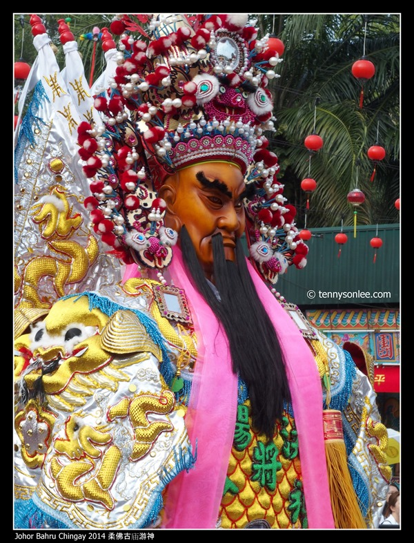 Johor Bahru Chingay 2014 柔佛古庙游神 (46)