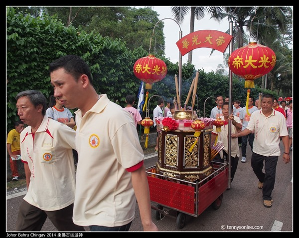 Johor Bahru Chingay 2014 柔佛古庙游神 (47)